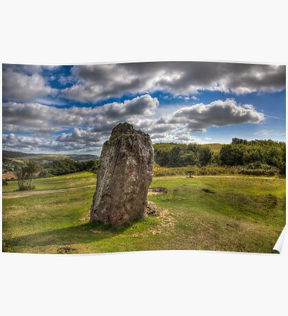 Mottistone The Longstone Poster