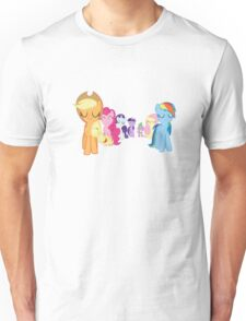 The Mane Six Trust Themselves Unisex T-Shirt