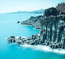 Jungsangjeolli, Jeju Island, South Korea by Belle  Nachmann