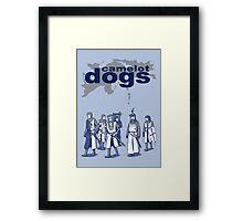 Camelot Dogs Framed Print
