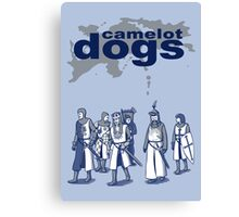 Camelot Dogs Canvas Print