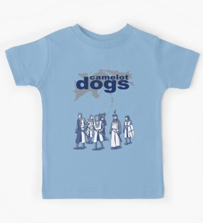 Camelot Dogs Kids Tee