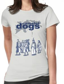 Camelot Dogs Womens Fitted T-Shirt