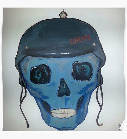 Helmet Head Forever Poster