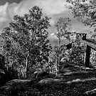 Mt Buffalo Summit Hut by bekyimage