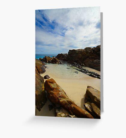 Seaside Inlet Greeting Card