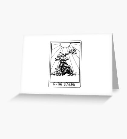 Tarot Series: The Lovers Greeting Card