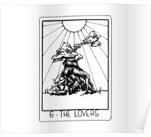 Tarot Series: The Lovers Poster