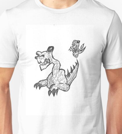 Here There be Dragons Unisex T-Shirt