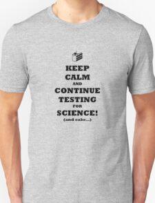 Aperture Science Reminder Unisex T-Shirt