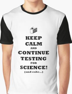 Aperture Science Reminder Graphic T-Shirt