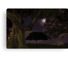 Observatory Hill by moonlight Canvas Print