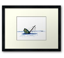 Lonely Days Framed Print