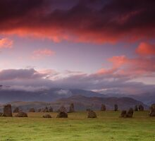 Dawn at Castlerigg by Steve Langton