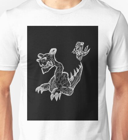 Here There Must be Dragons Unisex T-Shirt