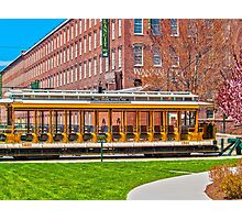 Lowell Trolley 1910 Photographic Print
