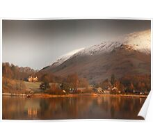 Winter Morning Grasmere Poster