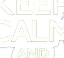 Keep Calm and Beware the Shadow Splinter Cell Sticker