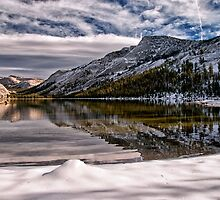 Snowy Tenaya Lake by Cat Connor