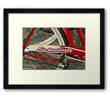 Schwinn Framed Print