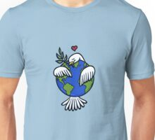 World Peace Hug Unisex T-Shirt
