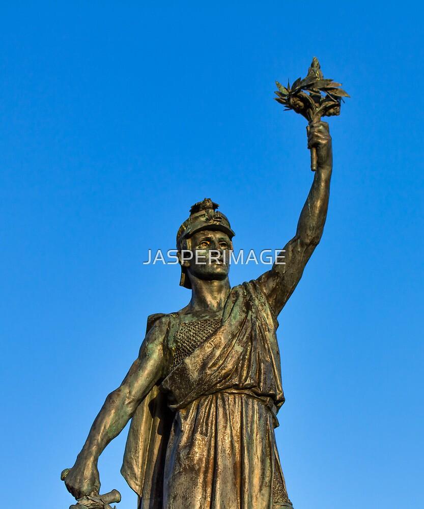 VICTORY AND PEACE - ELGIN WAR MEMORIAL by JASPERIMAGE