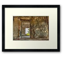 Rooted in History Framed Print