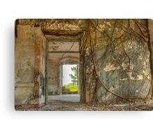 Rooted in History Canvas Print