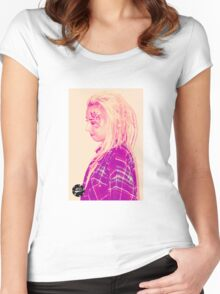 Dreadlock Rasta Women's Fitted Scoop T-Shirt