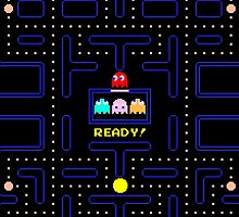 PACMAN - LEVEL 1 by why sobhi