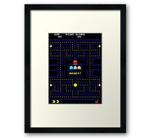 PACMAN - LEVEL 1 Framed Print