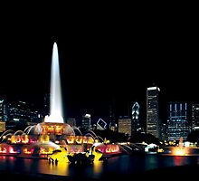Chicago Buckingham Fountain by Steve Ivanov