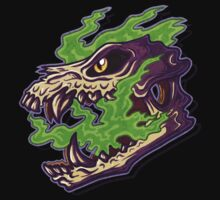 Green Spirit Skull by alphares