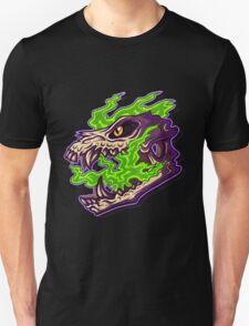 Green Spirit Skull Unisex T-Shirt