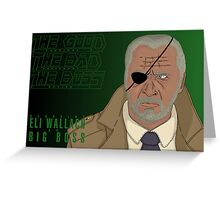 The Good, The Bad and The Boss - A Metal Gear Movie (Big Boss) Greeting Card
