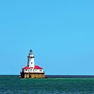 Chicago Harbor Light by Steve Ivanov