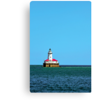 Chicago Harbor Light Canvas Print