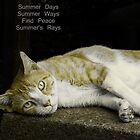 Ode to Summer Napping by Michael Taggart