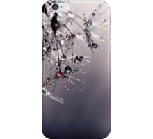 droplets of rainbow sparkles iPhone Case/Skin