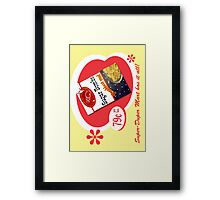 Sugar Bombs Framed Print