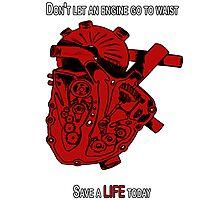 Heart Engine  Photographic Print