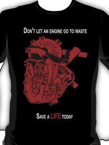 Heart Engine Red T-Shirt