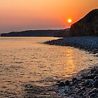 Sunset Special down at Llantwit Major Beach, Wales, UK by Heidi Stewart