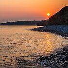Sunset Special down at Llantwit Major Beach, Wales, UK by Heidi Stewart