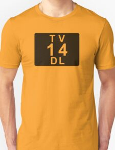 TV 14 DL (United States) black T-Shirt