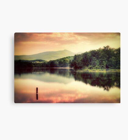 Price Lake Sunset Canvas Print