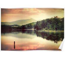 Price Lake Sunset Poster