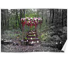 Floral Arches Poster