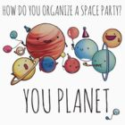How to organize a space party? v2 by cheezup