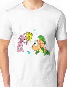 Helpful Worm Unisex T-Shirt